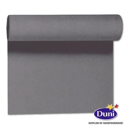 Duni 40x24m Tete a tete Granite Grey