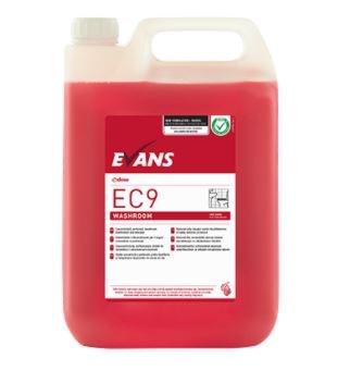 EC9 Washroom Cleaner Red Zone 2x5L