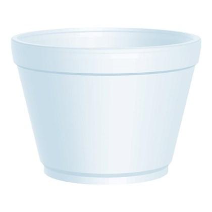 16oz EPS Extra Squat Round Container