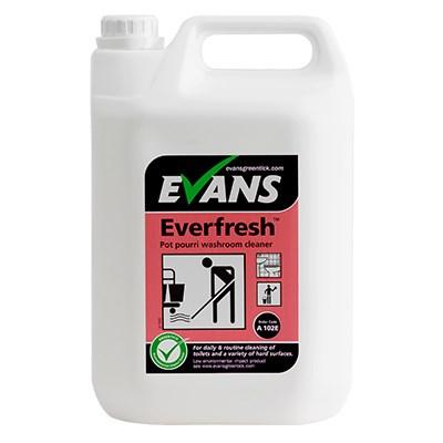 Everfresh Pot Pouri Perfumed Toilet & Washroom Cleaner 2x5L