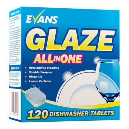 Glaze 5 in 1 Dish Wash Tablets Qty 100