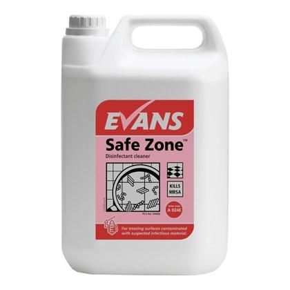 Safe Zone Virucidal Disinfectant Cleaner Qty 2x5L