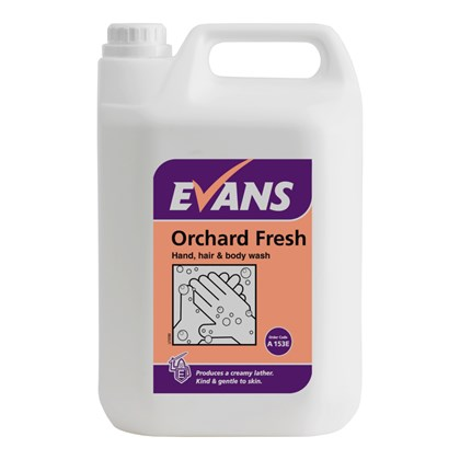 Orchard Fresh 5L Hand, Hair & Body Wash 5L