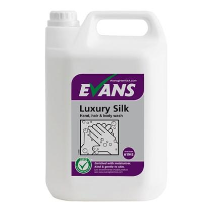 Luxury Silk Hand, Hair & Body Wash 5L