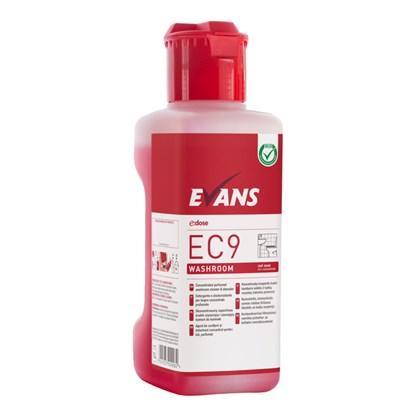 EC9 Washroom Cleaner - Red Zone Dosing Bottle 1L