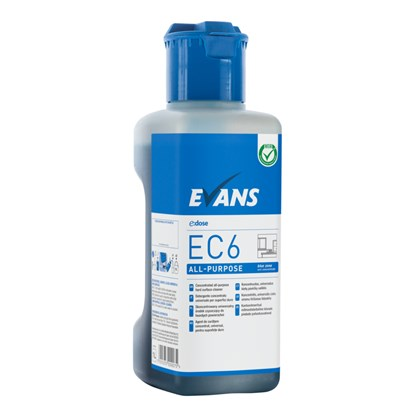 EC6 All Purpose Interior -Blue  Zone Dosing Bottle 1L