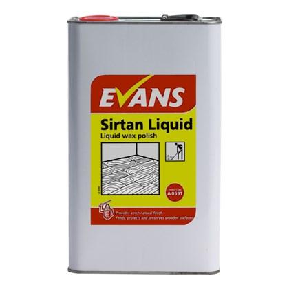 Evans Sirtan Liquid Wax Polish 5L