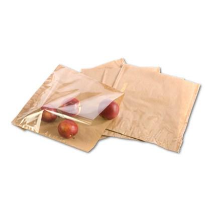 "Kraft Film Fronted Bag 10"" x 10"""