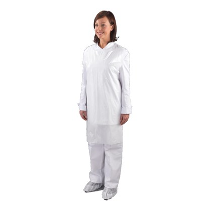 White Disposable Aprons Qty 100