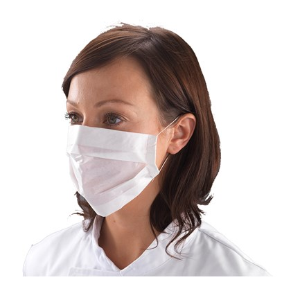 White Paper Face Mask Qty 100