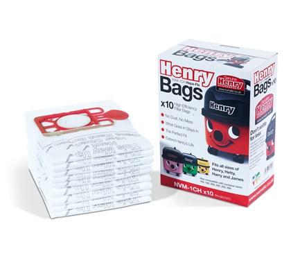 Numatic Henry Spare Vacuum Bags Qty 10