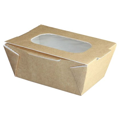 Small Food to Go Box (With Window)