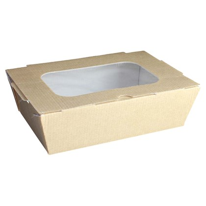 Large Food to Go Box (With Window)