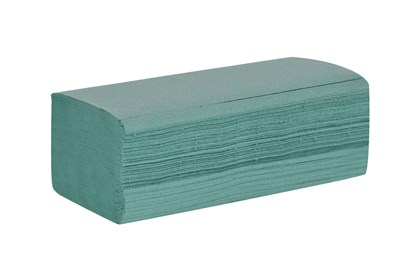 1ply Green Z-Fold Hand Towels*