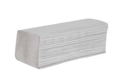 2ply White V-Fold Hand Towels