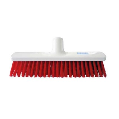 Hygiene Broom Red Medium 30cm