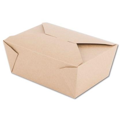 No.4 Kraft Leak Proof Boxes Qty 180