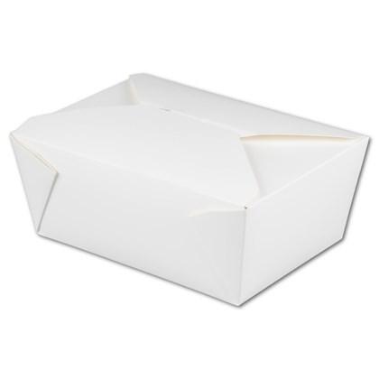 No.4 White Leak Proof Boxes