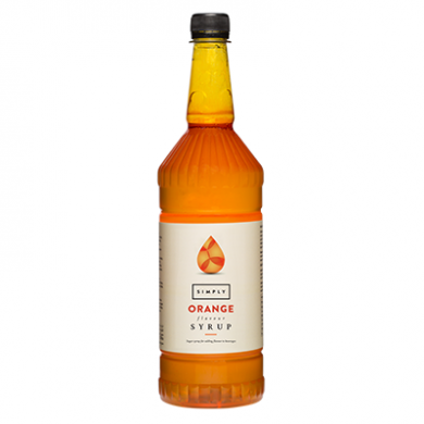 Simply Bottle of Orange Syrup 1L
