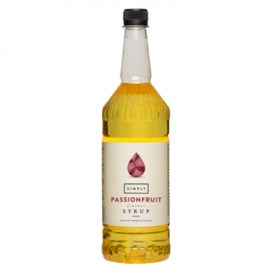 Simply Bottle of Passionfruit Syrup 1L