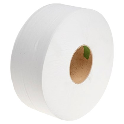Jumbo Toilet Rolls 2ply (Small Core) case of 6 rolls