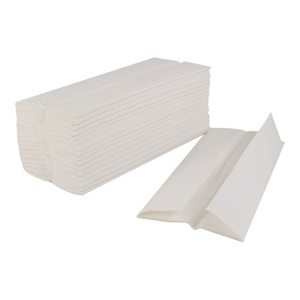 C-Fold Hand Towel  White Qty 2430