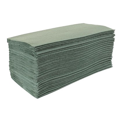 Z-Fold Hand Towel Green Qty 3000