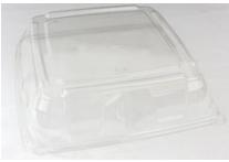 PET Square Clear Platter Lid 37x37 Qty25