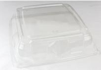 PET Square Clear Platter Lid 32x32 Qty25