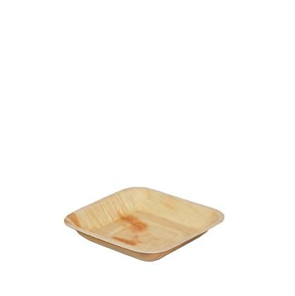 Palm Leaf Square Plate 17cm Qty 100