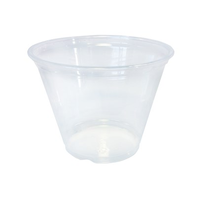 PET 9oz Clear Cup Tumbler