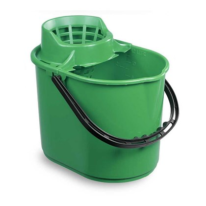 Green Mop Bucket 12L