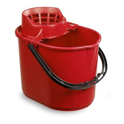 Red Mop Bucket 12L