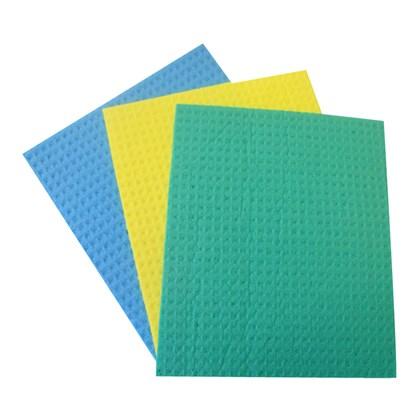 Sponge Cloths Assorted Colours Qty 10