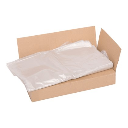 "Standard Clear Refuse Sacks 29""x39"""