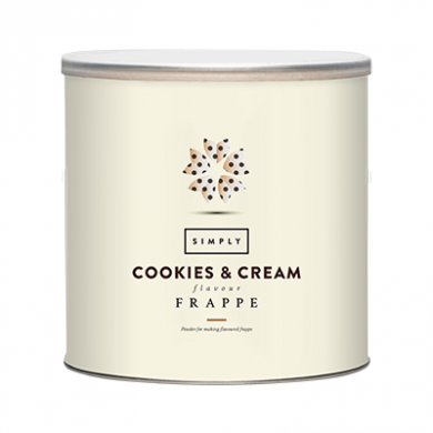 Simply Cookies & Cream Frappe 1.75Kg