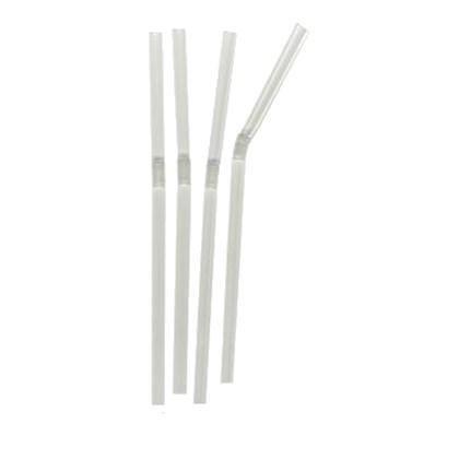 Clear Flexi Straw 200x6mm Qty 250