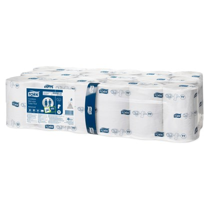 Tork T7 Soft Coreless Mid-size Toilet Roll White 900 sheets x 36 rolls