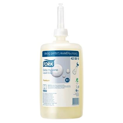 Tork S1 Premium Extra Hygiene Liquid Soap 6 x 1000ml