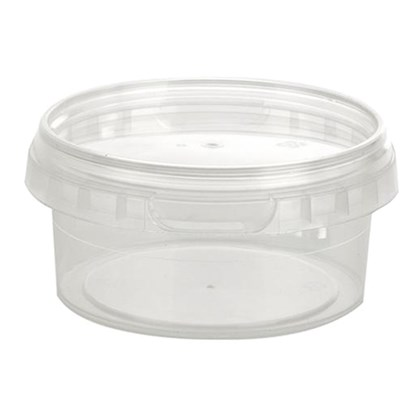 Tamper Evident Containers & Lids 210ml