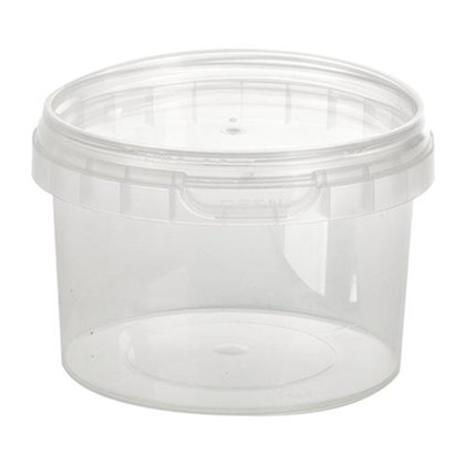 Tamper Evident Container & Lid 280ml