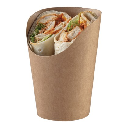163ml/5.5fl oz Paperboard Kraft Wrap Cup