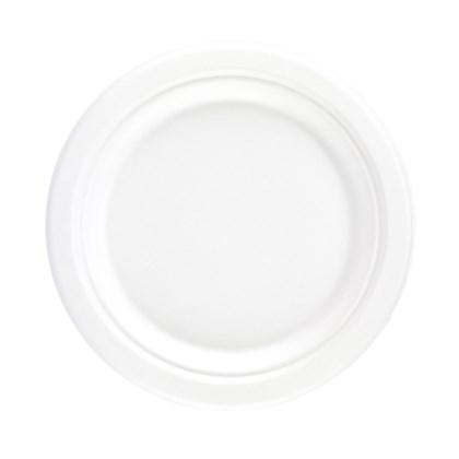 "9"" Bagasse Bio Round Plate"