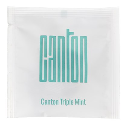 Canton Wrapped Triple Mint Pyramid Tea Bags