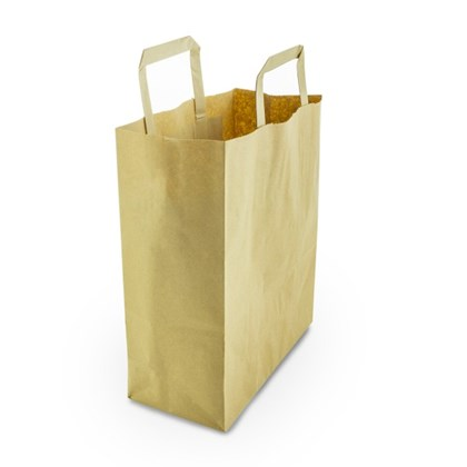 Medium Recyled Kraft Paper (VEG) Carrier Qty250