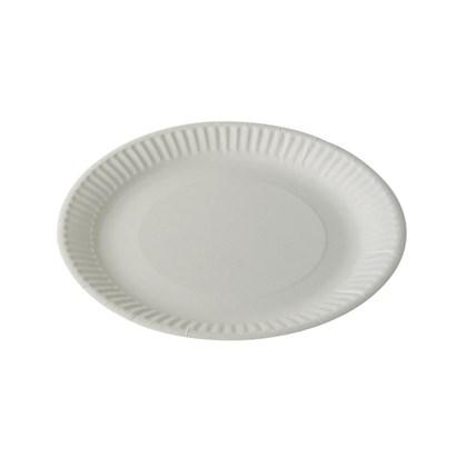"7"" White Paper Plate"