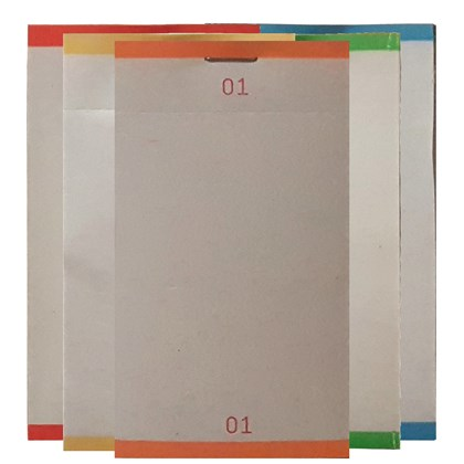 Single Order Pad Assorted