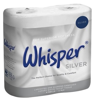 Whisper 2ply Toilet Roll