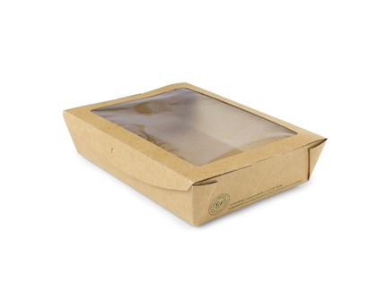 1100ml Windowed Salad Box Qty 300