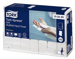 Tork H2 Xpress Premium Soft Multifold Hand Towel Qty 21 x 150 Sheets